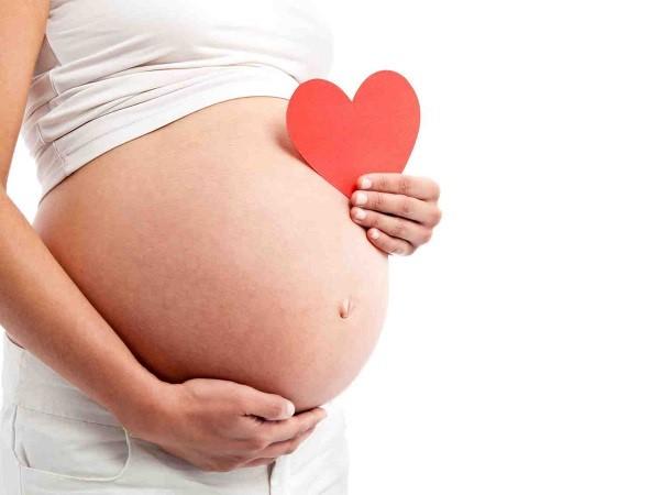mọc đường lông bụng khi mang thai