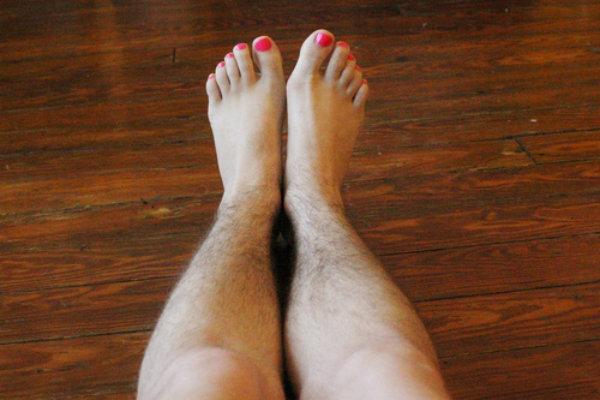 triệt lông chân