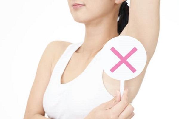 phụ nữ mang thai triệt lông nách được không